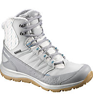 Salomon Kaina Mid GTX - scarpa après ski, Light Onix/Pearl Grey/Mist Blue