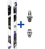 Salomon Rockette 90 (2012/13) FR Set: Ski+Bindung