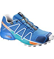 Salomon Speedcross 4 GTX Men Männer Trailrunningschuh, Blue/White