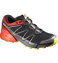 Salomon Speedcross Vario Trailrunning Laufschuh Herren, Black/Red