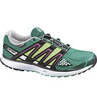 Salomon X-Scream GTX - City Trail Schuh für Damen, Emerald Green