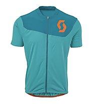 Scott AMT B S/SL Shirt, Medium Blue/Orange