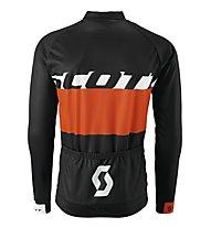 Scott RC Team L/SL Shirt, Black/Tangerine Orange