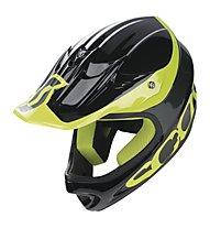 Scott Spartan Helmet, Black/Yellow