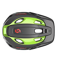 Scott Stego Helmet, black/green flash