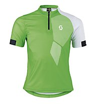 Scott Trail 40 S/SL Junior Shirt, Classic Green/White