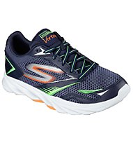 Skechers Go Run Vortex, Navy/Orange