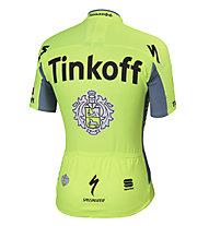 Sportful Tinkoff Saxo BodyFit Pro Team Jersey 2016 Radtrikot, Green