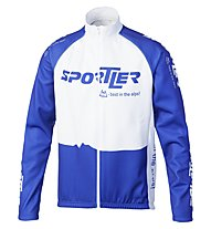 Sportler Sportler Jacket Antiwind, White/Blue