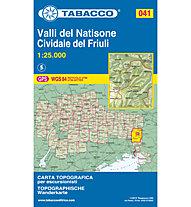 Tabacco Karte Nr. 041 1:25.000, 1:25.000