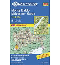 Tabacco Carta N. 063 Monte Baldo-Malcesine-Garda, 1:25.000