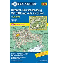 Tabacco N° 042 Ultental/Val d'Ultimo (1:25.000), 1:25.000
