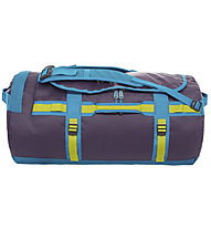 The North Face Base Camp Duffel M - borsone, Zinc Grey/Tropical Coral