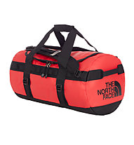 The North Face Base Camp Duffel S (2016) - borsone, Red/Black