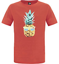 The North Face Reaxion T-Shirt Kinder, Fiery Red