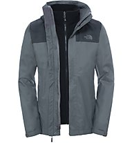 The North Face Evolve II Triclimate Jacket Giacca con cappuccio, Grey