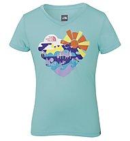 The North Face Hike T-Shirt Mädchen, Bonnie Blue