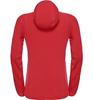 The North Face Incipient Hooded Jacket Giacca in pile Donna, Red
