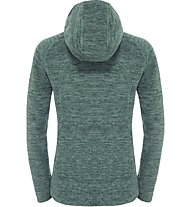 The North Face Nikster Full Zip Hoodie Giacca in pile donna, Green