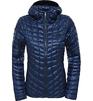 The North Face Thermoball Hoodie Damen Daunenjacke, Blue