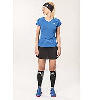 The North Face Ultra Endurance Damen Trail Running Schuh, Dark Blue/Red