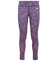 The North Face W Pulse Tight Pantaloni Donna, Dark Blue