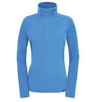 The North Face 100 Glacier 1/4 Zip Pullover Damen, Danish Blue