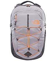 The North Face Women´s Borealis - Tagesrucksack, Dapple Grey Heather/Tropical Coral