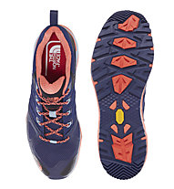 The North Face Ultra Fastpack II GTX W Scarpa Donna, Patriot Blue/Radiant Orange