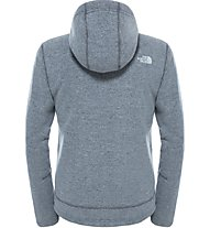 The North Face Zermatt Full Zip Hoodie Giacca in pile, Grey