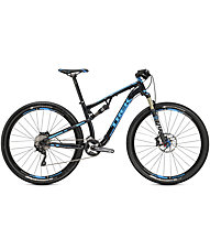 Trek Superfly FS 8, Black Titanite/Trek Cyan
