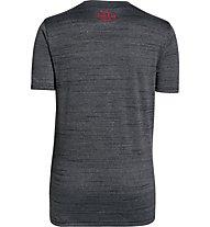 Under Armour Big Logo Hybrid T-Shirt Jungen, Black