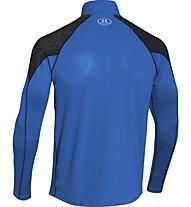 Under Armour Coldgear Chrome - Laufshirt, Blue Jet/Black/Reflective