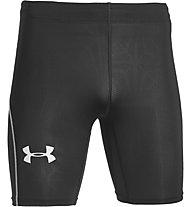 Under Armour Cool Switch Run Comp pantaloncini running, Black