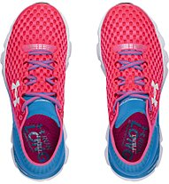 Under Armour Gemini 2 W scarpa running donna, Pink/Light Blue