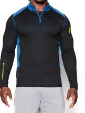 Abbigliamento > Tutto l'abbigliamento > T-shirts >  Under Armour UA Coldgear Infrared Grid 1/2 Zip Mock maglia running
