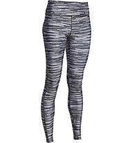 Under Armour HeatGear Armour Printed Legging donna, White/Light Grey