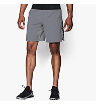 Under Armour Hiit Woven pantaloncini ginnastica, Steel