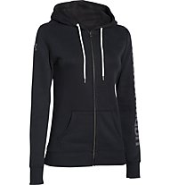 Under Armour Hoodie Storm Rival Cotton giacca donna, Black