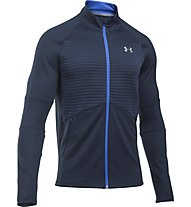 Under Armour No Breaks ColdGear - Laufjacke Herren, Blue
