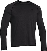 Under Armour Teh ls tee Maglia a maniche lunghe fitness, Grey