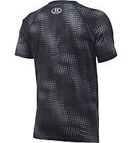 Under Armour Big Logo T-Shirt Jungen, Grey