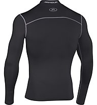 Under Armour UA Coldgear Armour Compression Mock Maglia a compressione fitness, Black