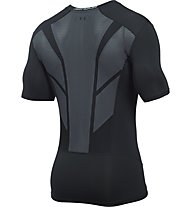 Under Armour UA HeatGear CoolSwitch Supervent maglia a compressione, Black