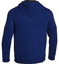 Under Armour Storm Cotton Pullover Hoody felpa, Cobalt/Academy/Bolt Orange