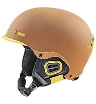 Uvex Hlmt 5 Pro, Brown/Yellow Mat