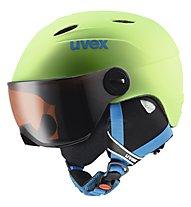 Uvex Junior Visor Pro - Kinder-Skihelm, Applegreen Mat