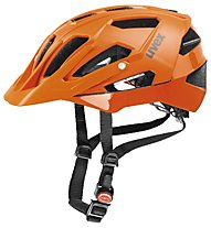 Uvex Quatro All-Mountain-Radhelm, orange matt/shiny