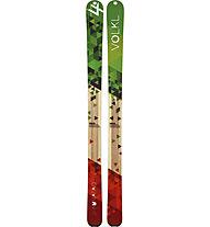 Völkl Nunataq, Green/Red/Wood