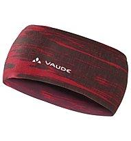 Vaude Cassons Headband Fascia Paraorecchie Scialpinismo, Red